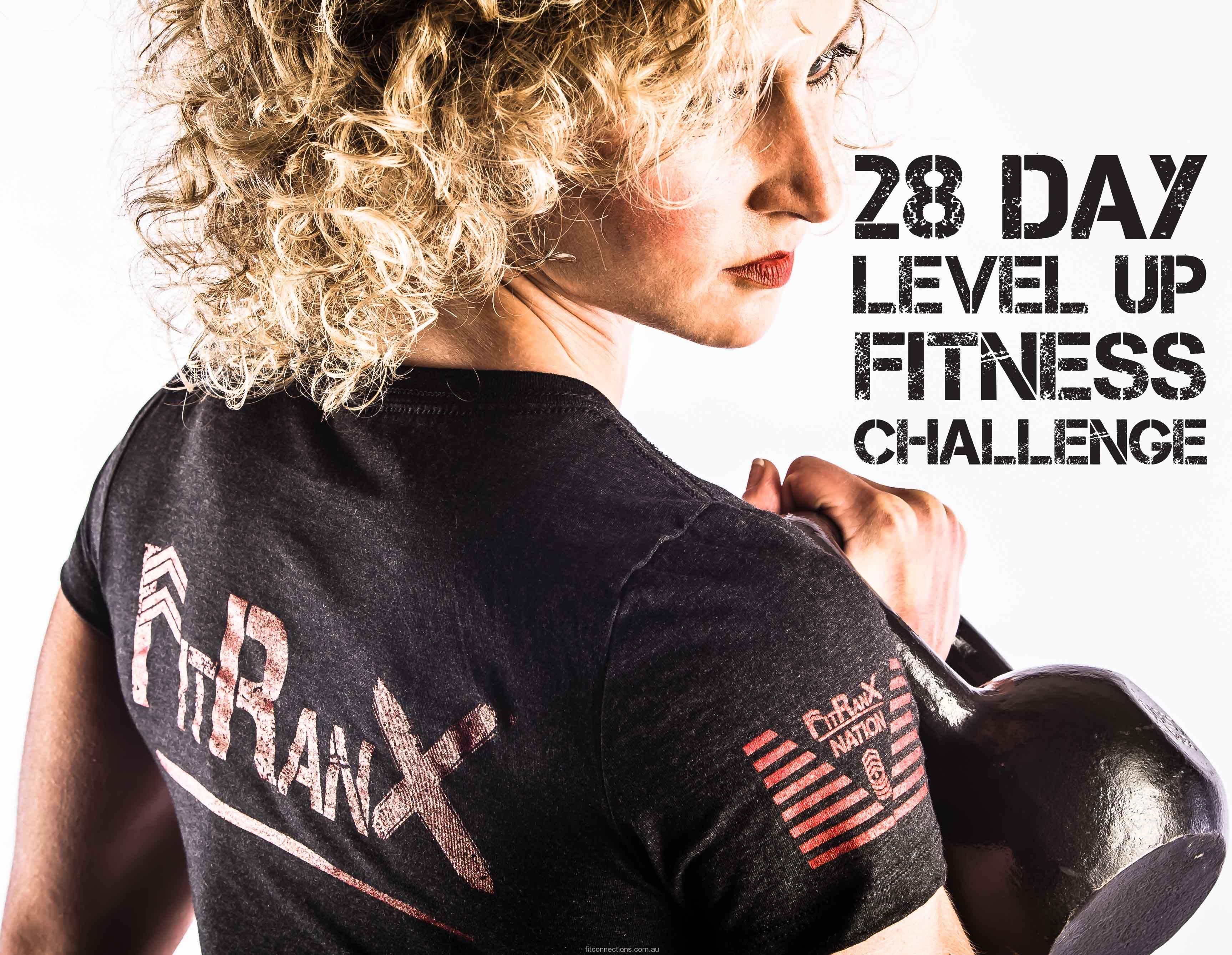 28 Day FitRanX Level Up Fitness Challenge
