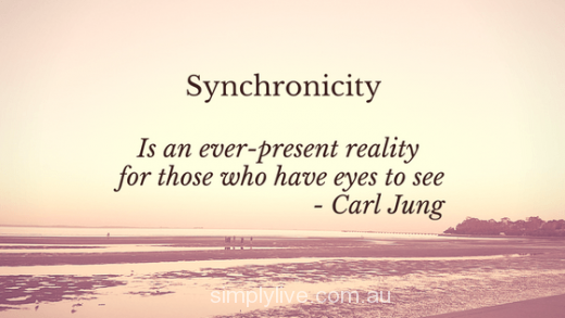 Synchronicity. Trust.